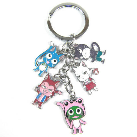Fairy Tail Keychain Collection - Otakupicks