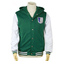 Attack on Titan Hooded Letterman - Otakupicks
