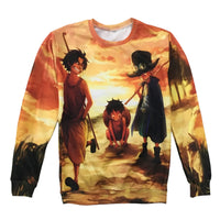 One Piece Young Monkey D Luffy Sweatshirt - Otakupicks