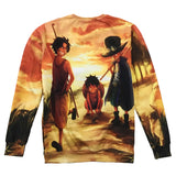 One Piece Young Monkey D Luffy Sweatshirt