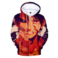 Attack on Titan Transformation Hoodie