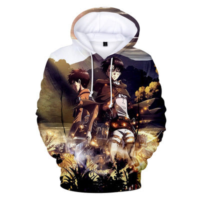 Attack on Titan Eren and Levi Hoodie