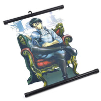 Attack on Titan Levi Poster - Otakupicks