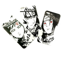 Naruto Black & White Silicone iPhone Case - Otakupicks