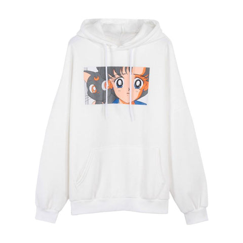 Sailor Moon Box Scene Hoodie - Otakupicks
