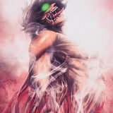 Attack on Titan Eren Transformation Poster - Otakupicks
