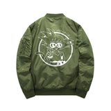 Dragon Ball Goku Peace Bomber Jacket - Otakupicks