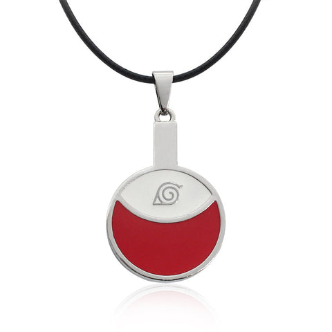 Naruto Uchiha Symbol Necklace