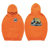 Dragon Ball Kanji Waves Hoodie - Otakupicks
