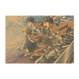 Attack on Titan Squad Poster - Otakupicks