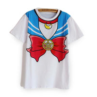 Blue Sailor Moon costume T-shirt