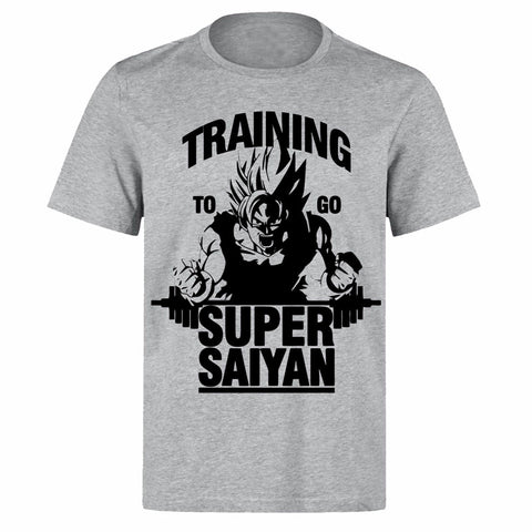 Dragon Ball Z Super Saiyan Training T-Shirt - Otakupicks
