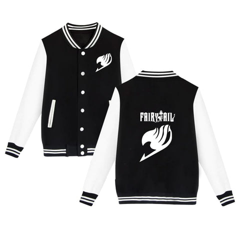 Fairy Tail Baseball Jacket - Otakupicks