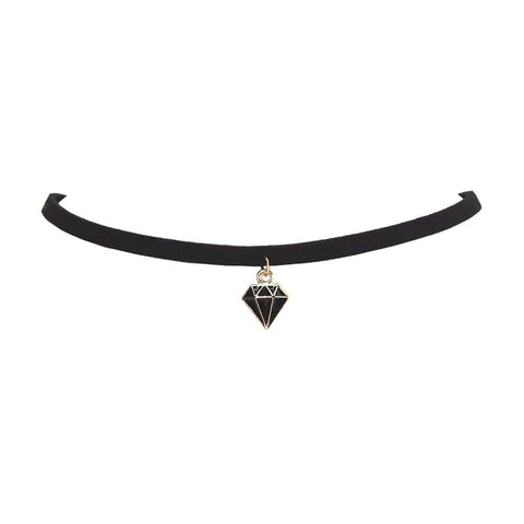 Anime Black Diamond Choker