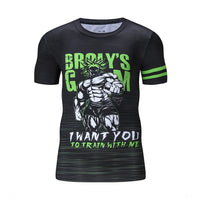 Dragon Ball Z Broly's Gym Compression T-Shirt