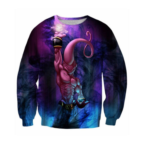 Dragon Ball Z Kid Buu Sweatshirt - Otakupicks