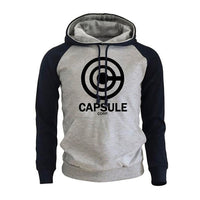 Dragon Ball Z Capsule Corp Hoodie - Otakupicks