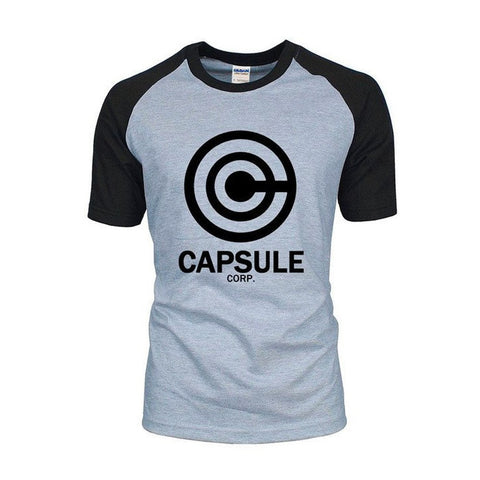Dragon Ball Z Capsule Corp Raglan Shirt - Otakupicks