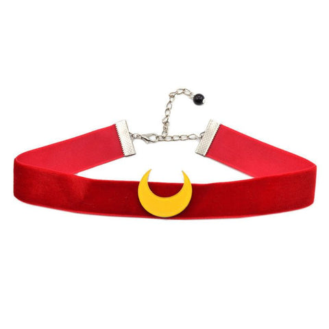 Sailor Moon Deluxe Red Velvet Choker