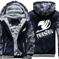 Fairy Tail Hooded Army Jacket - Otakupicks