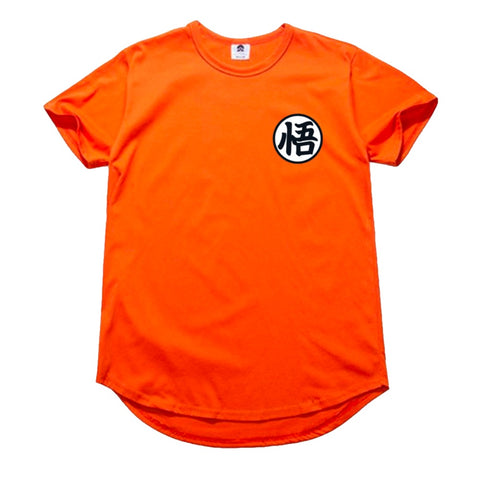 Dragon Ball Z Kanji Longline T-Shirt - Otakupicks