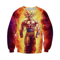 Dragon Ball Z Super Saiyan Goku Crewneck - Otakupicks