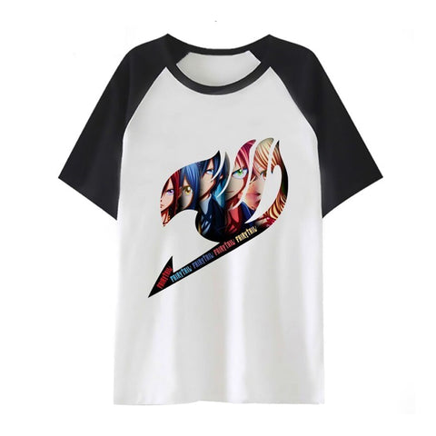 Fairy Tail Logo Raglan T-Shirt - Otakupicks