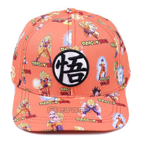 Dragon Ball Z Goku Kanji Baseball Cap