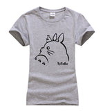 My Neighbor Totoro Outline T-Shirt