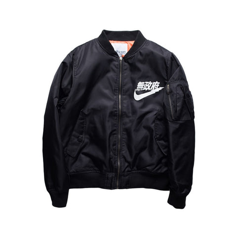 Air Kanji Anarchy Bomber Jacket - Otakupicks