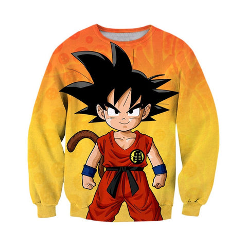 Dragon Ball Kid Goku Sweatshirt - Otakupicks