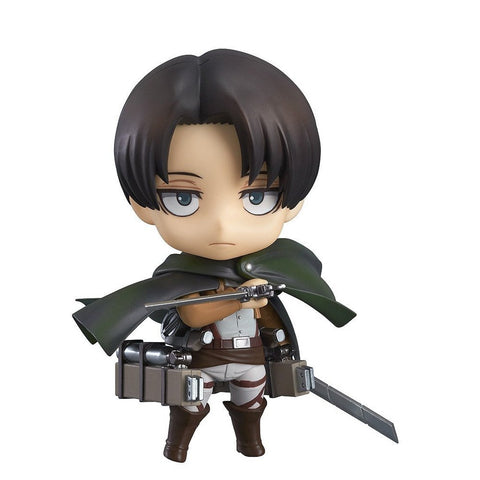 Attack on Titan Levi Nendoroid Action Figure - Otakupicks