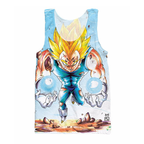 Dragon Ball Z Majin Vegeta Tank Top - Otakupicks