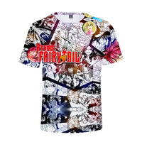 Fairy Tail Manga T-Shirt - Otakupicks