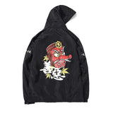 Japanese Kanji Mask Windbreaker - Otakupicks