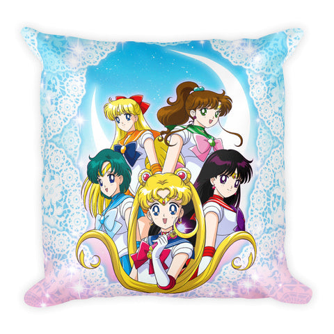 Sailor Moon Square Pillow