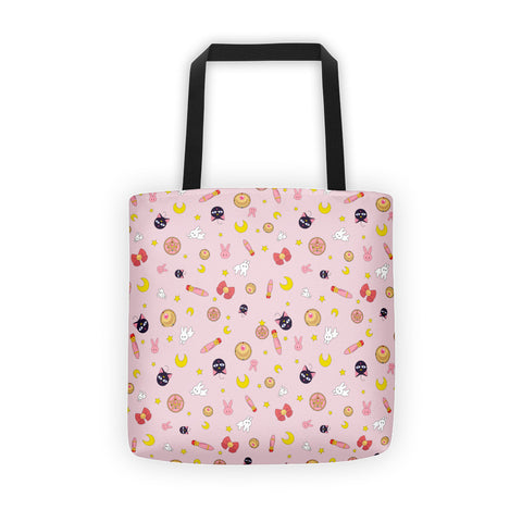 Sailor Moon Pink Tote bag
