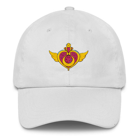 White Sailor Moon Cosmic Heart Hat