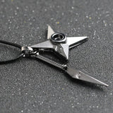 Naruto Kunai Shuriken Necklace - Otakupicks