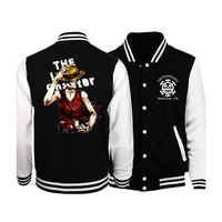 Once Piece Monkey D. Luffy Letterman Jacket - Otakupicks