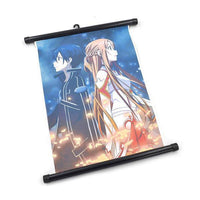 Sword Art Online Anime Scroll Wall Poster - Otakupicks