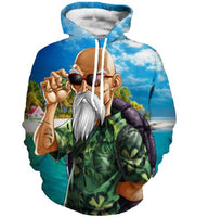 Dragon Ball Z Master Roshi Hoodie - Otakupicks