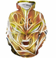 Dragon Ball Z Majin Vegeta Hoodie - Otakupicks