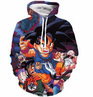 Dragon Ball OG Squad Hoodie - Otakupicks