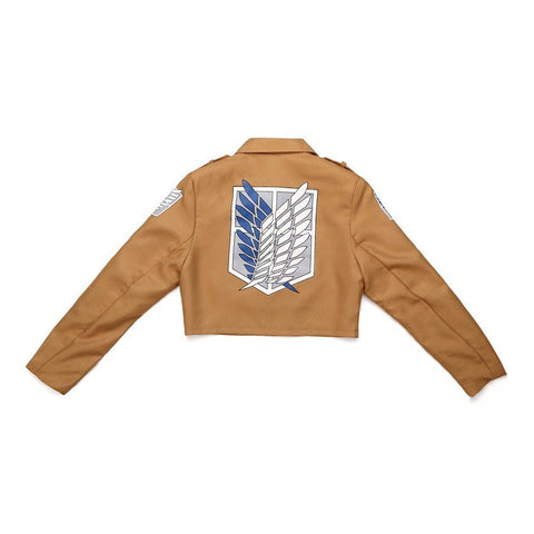 Attack on Titan Recon Corps Anime Cosplay Jacket