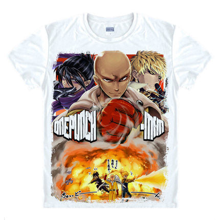 One Punch Man Hero Squad T-Shirt