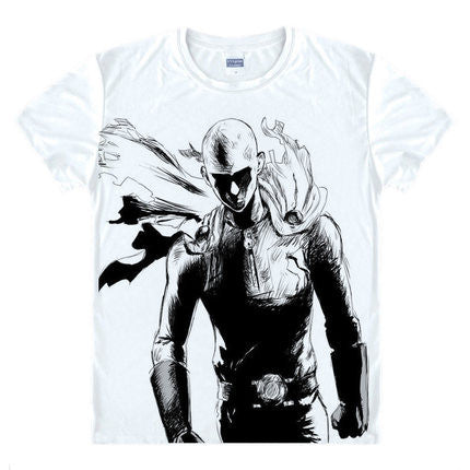 One Punch Man Hero's Outline T-Shirt