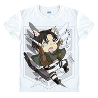 Attack on Titan Chibi Levi Ackerman T-Shirt