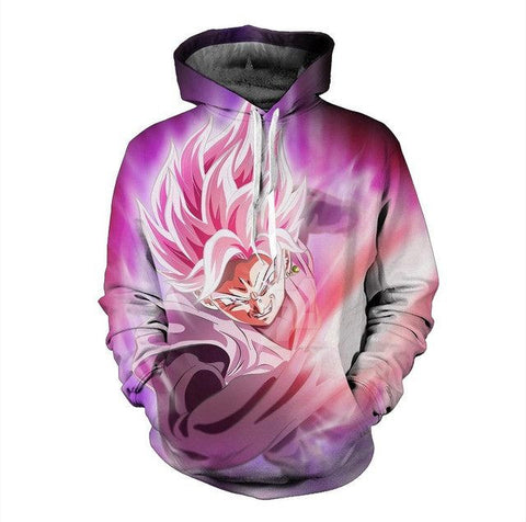Dragon Ball Super Saiyan God Goku Black Hoodie - Otakupicks