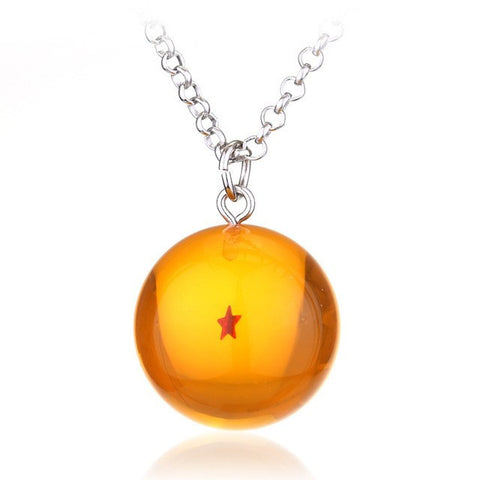 1 star dragon ball necklace